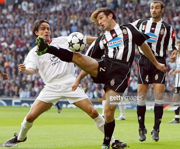 Champions League 02/03 Finale, Manchester; AC Mailand - Juventus Turin; Filippo INZAGHI/Mailand, Ciro FERRARA/Turin