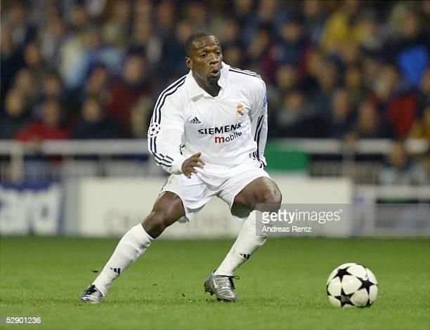 Champions League 02/03 Madrid Real Madrid Borussia Dortmund 21 Claude MAKELELE/Madrid