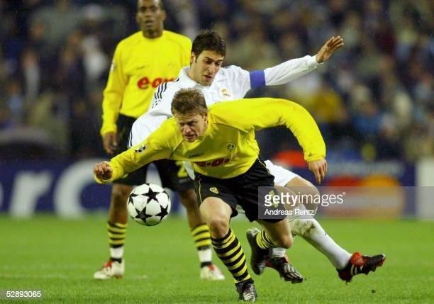 Champions League 02/03 Madrid Real Madrid Borussia Dortmund 21 Christian WOERNS/Dortmund RAUL/Madrid