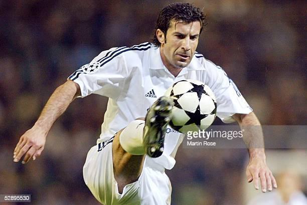 Champions League 02/03 Madrid Real Madrid Juventus Turin 21 Luis FIGO/Madrid