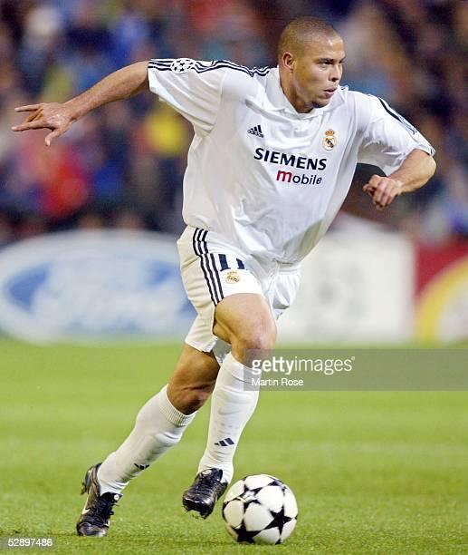 Champions League 02/03, Madrid; Real Madrid - Juventus Turin 2:1; RONALDO/Madrid