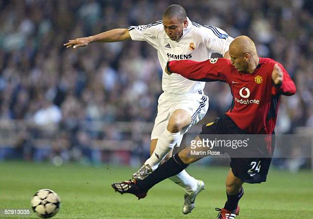 Champions League 02/03 Madrid Real Madrid Manchester United 31 Ronaldo/Madrid Wesley BROWN/Manchester