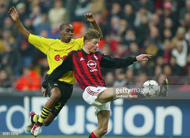 Champions League 02/03 Mailand AC Mailand Borussia Dortmund 01 EWERTHON/Dortmund Jon Dahl TOMASSON/Mailand