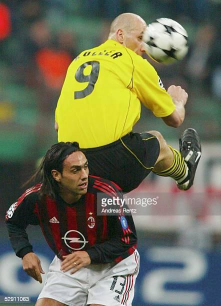 Champions League 02/03 Mailand AC Mailand Borussia Dortmund Alessandro NESTA/Mailand Jan KOLLER/Dortmund