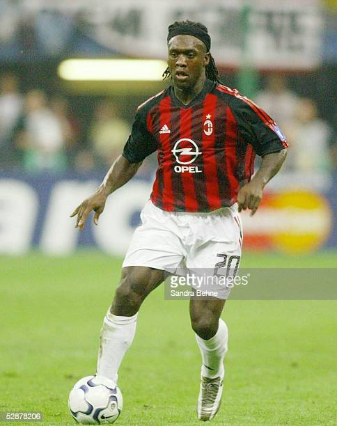 Champions League 02/03 Mailand Inter Mailand AC Mailand 11 Clarence SEEDORF/AC MAILAND