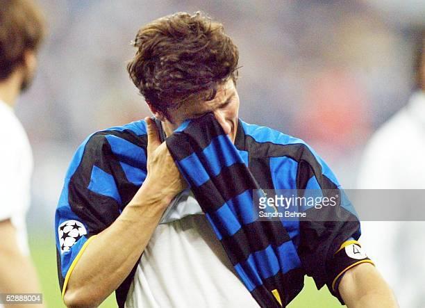 Champions League 02/03 Mailand Inter Mailand AC Mailand 11 Javier ZANETTI/Inter