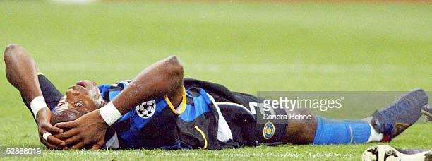 Champions League 02/03 Mailand Inter Mailand AC Mailand 11 Mohamed KALLON/Inter