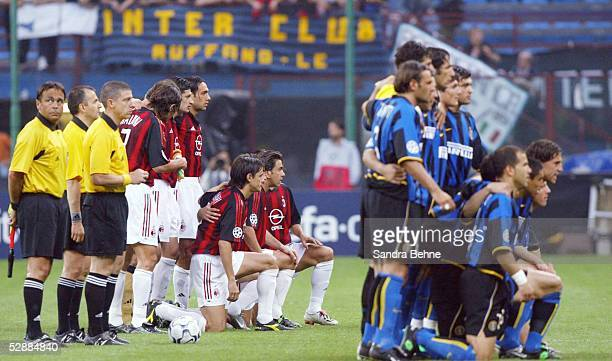 Champions League 02/03 Mailand Inter Mailand AC Mailand 11 Team Inter Team AC Mailand