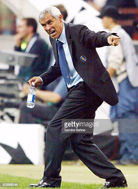 Champions League 02/03 Mailand Inter Mailand AC Mailand 11 Trainer Hector Raul CUPER/Inter
