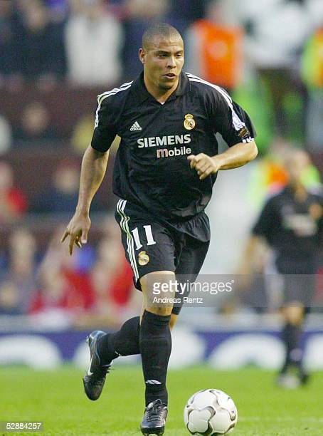 Champions League 02/03 Manchester Manchester United Real Madrid 43 RONALDO/Madrid