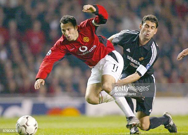 Champions League 02/03 Manchester Manchester United Real Madrid 43 Ryan GIGGS/ManU Fernando HIERRO/Madrid