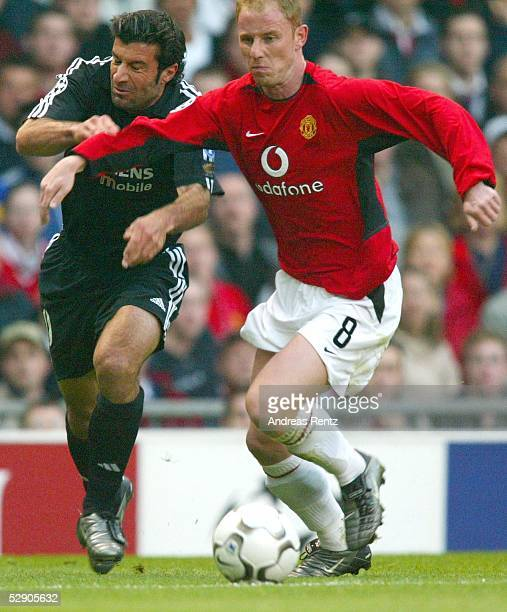 Champions League 02/03 Manchester Manchester United Real Madrid 43 Luis FIGO/Madrid Nicky BUTT/ManU