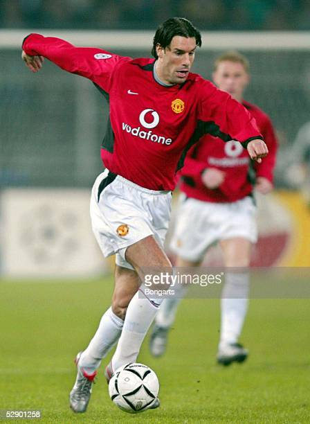 Champions League 02/03, Turin; Juventus Turin - Manchester United 0:3; Ruud VAN NISTELROOY/Manu