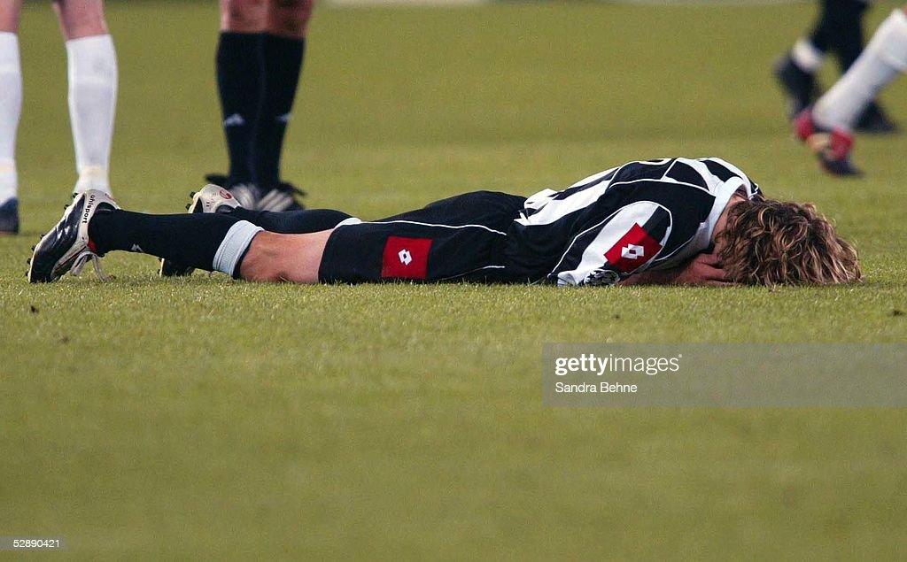 Fussball: CL 02/03, Juventus Turin - Real Madrid 3:1 : Foto di attualità