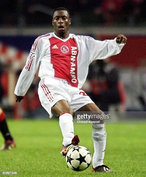 Champions League 02/03 Viertelfinale Amsterdam Ajax Amsterdam AC Mailand 00 Abubakari YAKUBU/Ajax