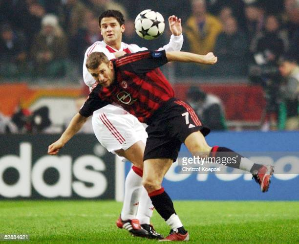 Cristian chivu pictures and photos getty images champions league 0203 viertelfinale amsterdam ajax amsterdam ac mailand cristian chivuajax andriy thecheapjerseys