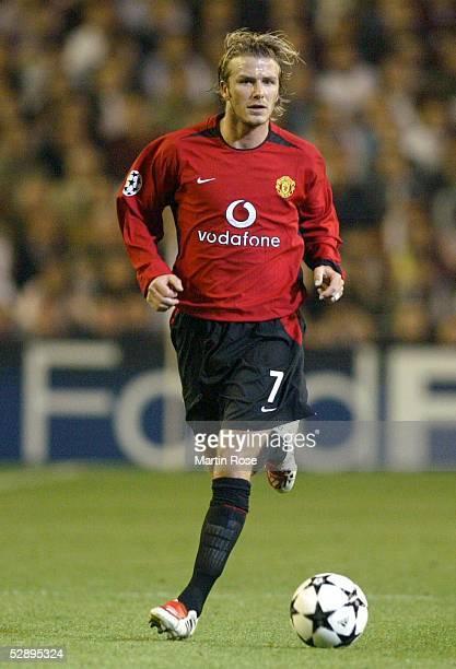 Champions League 02/03 Viertelfinale Madrid Real Madrid Manchester United 31 David BECKHAM/Manchester