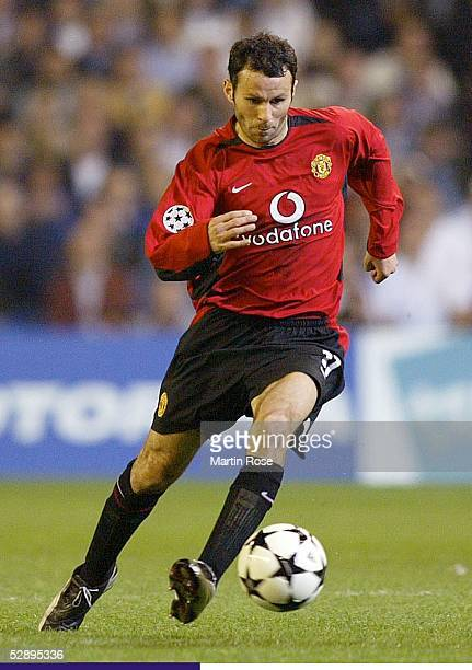 Champions League 02/03 Viertelfinale Madrid Real Madrid Manchester United 31 Ryan GIGGS/Manchester