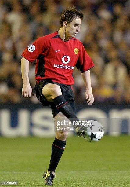 Champions League 02/03 Viertelfinale Madrid Real Madrid Manchester United 31 Gary NEVILLE/Manchester