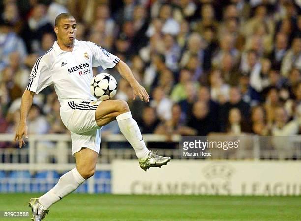 Champions League 02/03 Viertelfinale Madrid Real Madrid Manchester United 31 RONALDO/Real