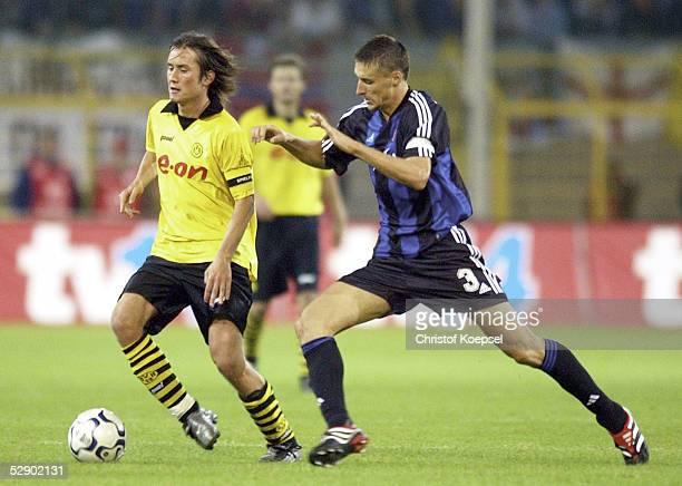 Champions League 03/04 Dortmund Borussia Dortmund FC Bruegge 45 nE Tomas ROSICKY/Dortmund