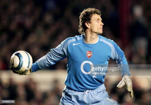 Champions League 04/05 London 090305 Arsenal London FC Bayern 10 Muenchen Torwart Jens LEHMANN/Arsenal