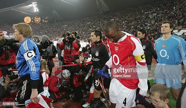 Champions League 04/05 Muenchen 220205 FC Bayern Muenchen Arsenal London Oliver KAHN/BAYERN Jens LEHMANN/Arsenal