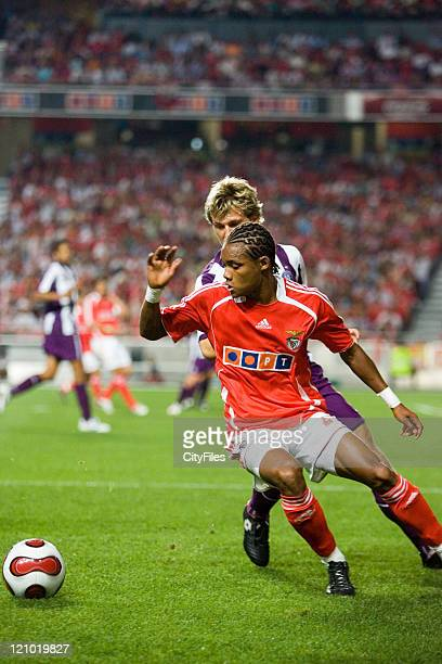Champions league 2nd qualifying match between SL Benfica and FK Austria Wien In picture Nelson