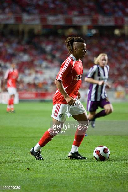 Champions league 2nd qualifying match between SL Benfica and FK Austria Wien In picture Manu