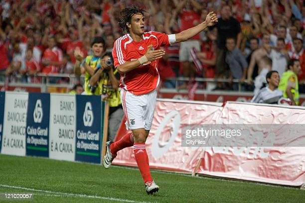 Champions league 2nd qualifying match between SL Benfica and FK Austria Wien. In picture Nuno Gomes .