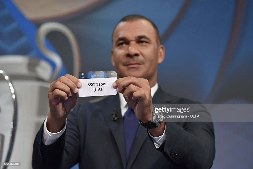 UEFA Champions League and Europa League Draws : Nachrichtenfoto