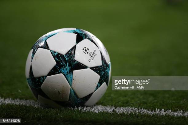 e2dd85049f7 Champions League branded Adidas ball during the UEFA Champions League group  C match between Chelsea FC