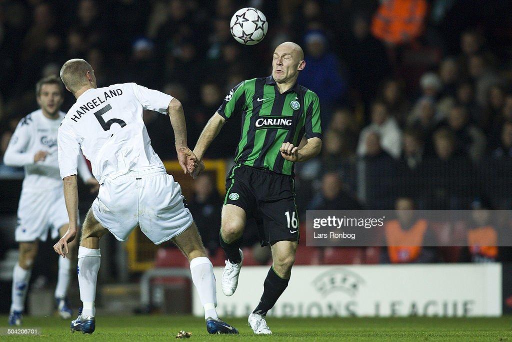 Champions League FCK - Celtic : News Photo