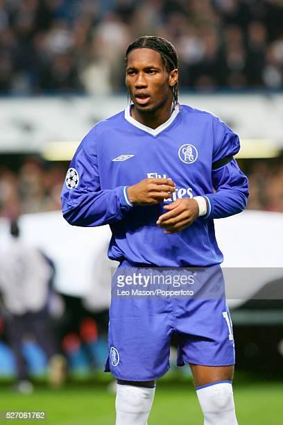 Champions League Chelsea vs Bayern Munich at Stamford Bridge Chelsea Didier Drogba