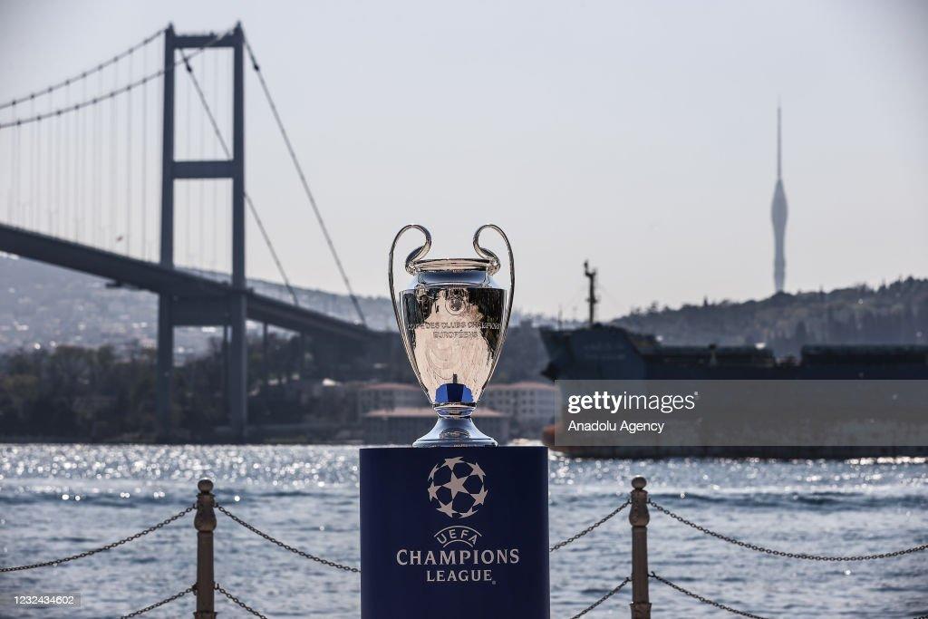 UEFA Champions League Cup in Istanbulâââââââ : News Photo
