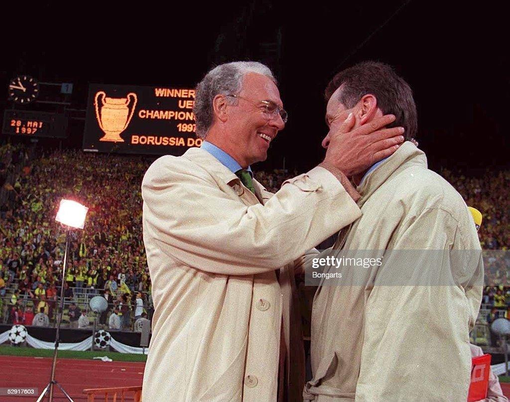 Fussball: Champions League Finale 1997, Muenchen, 29.5.97 : News Photo