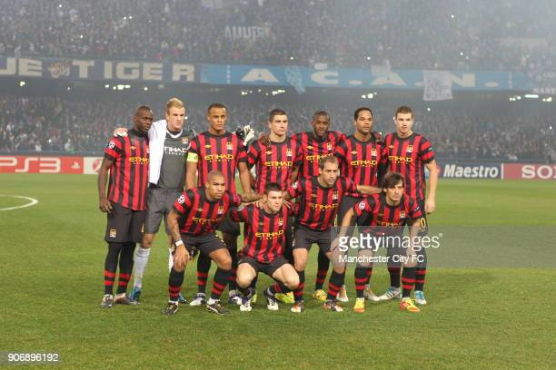 Champions League Group A Napoli v Manchester City Stadio San Paolo Manchester City Team Group