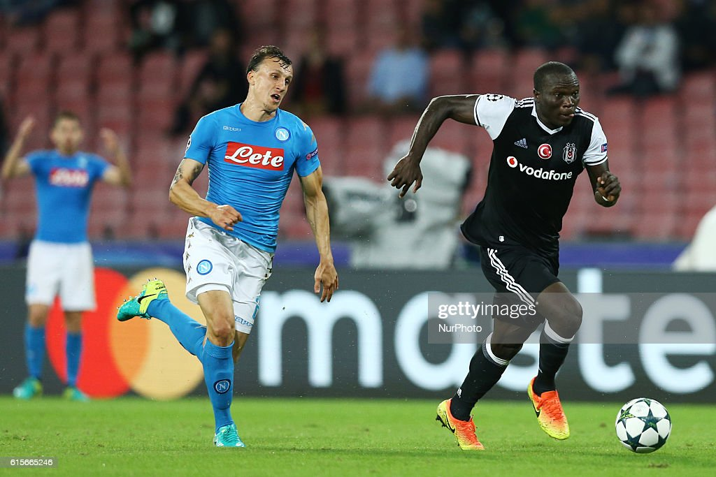 SSC Napoli v Besiktas JK - UEFA Champions League : News Photo