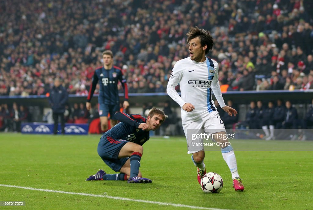 Soccer - UEFA Champions League - Group D - Bayern Munich v Manchester City - Allianz Arena : News Photo