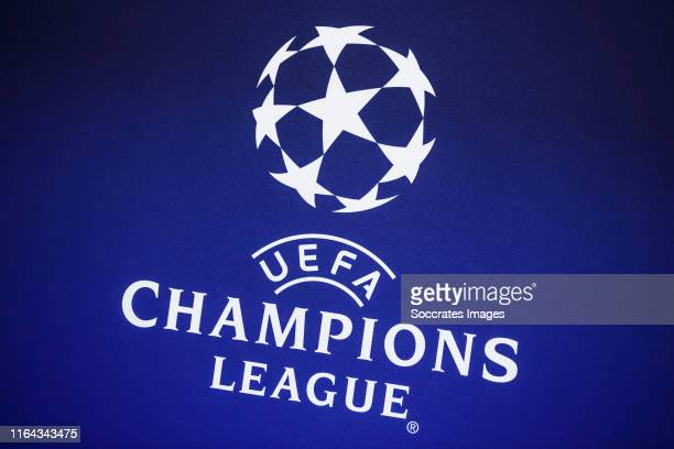 1 745 Uefa Champions League Logo Photos And Premium High Res Pictures Getty Images