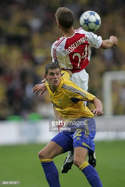 Champions League Qual Daniel Agger Broendby Markus Rosenberg Ajax Amsterdam