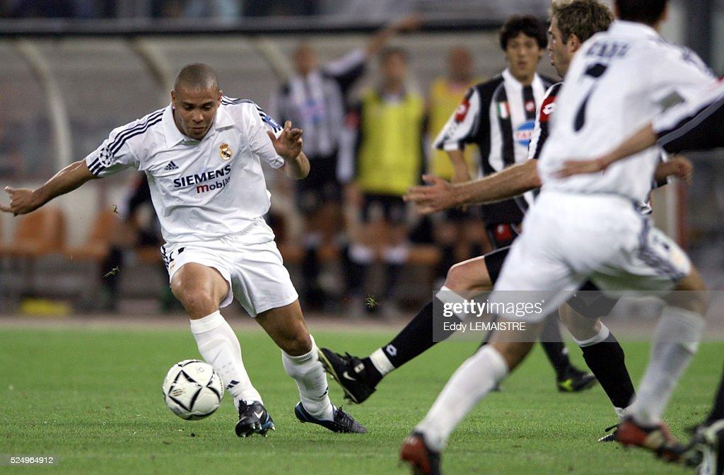 Champions League Soccer: Juventus vs Real Madrid : News Photo