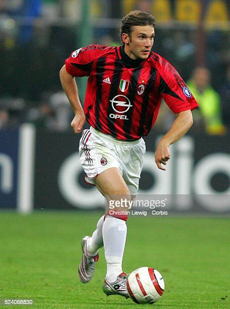 Champions League season 20042005 Internationale vs AC Milan Andrei Shevchenko