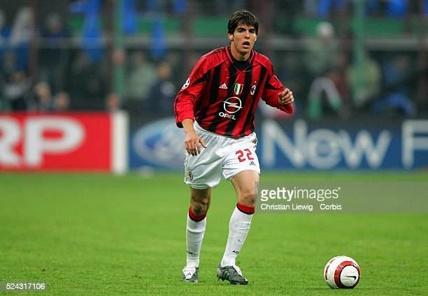 Champions League season 20042005 Internationale vs AC Milan Kaka