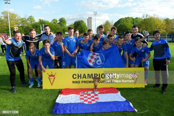 Champions of the Nike Premier Cup European Finals 2017 GNK Dinamo Zagreb on may 7 2017 in Berlin Germany