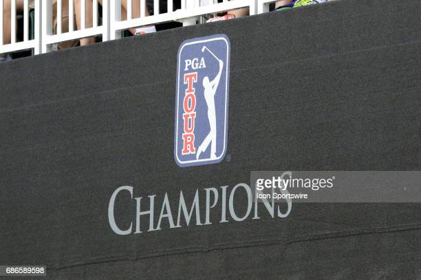 Champions Tour Logo at the third round of the 2017 PGA Champions Tour Regions Tradition on May 20, 2017 at Greystone Golf and Country Club in Hoover,...