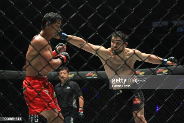 Championship match between Eduard Folayang and Aziz Pahrdinov Eduard Folayang returns in a big fashion and earns a unanimous decision victory over...