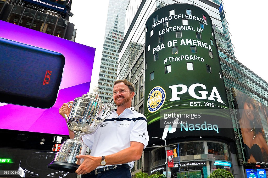 PGA Championship Winner NYC Media Tour