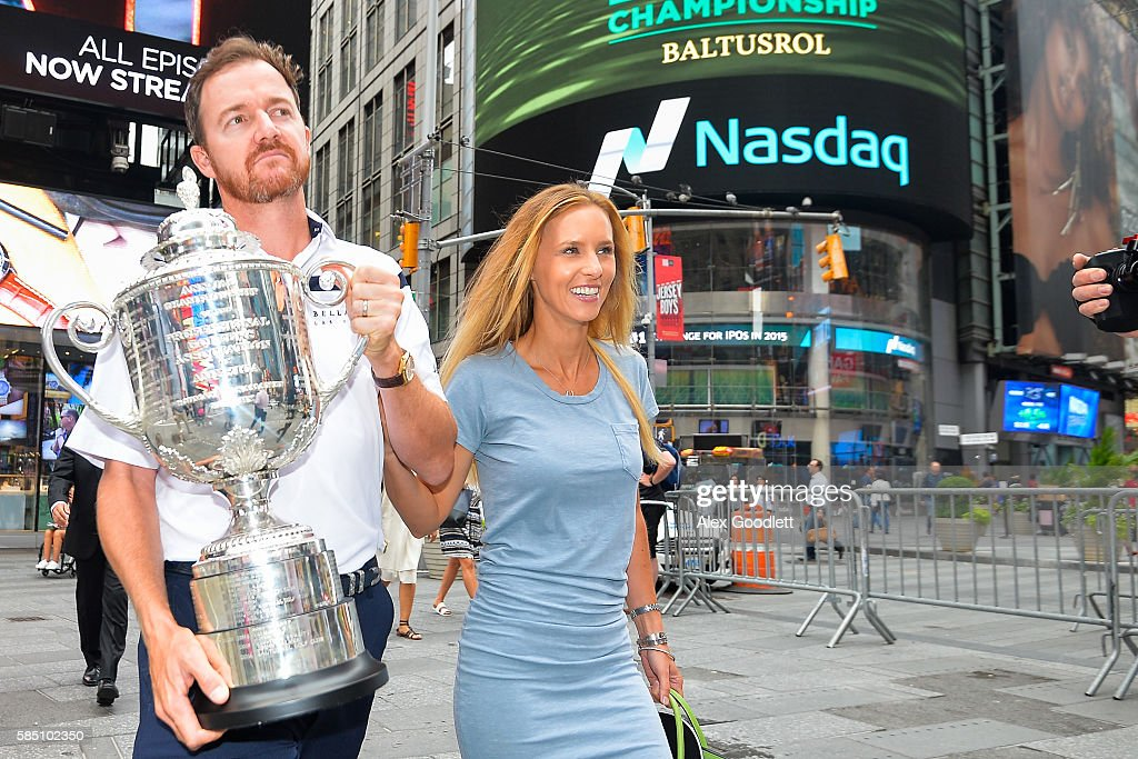 PGA Championship Winner NYC Media Tour : News Photo