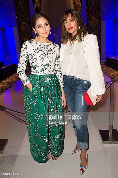 Champoo Araya A Hargate and Yasmin Le Bon attend the Ralph Russo Haute Couture Fall/Winter 20162017 show as part of Paris Fashion Week on July 4 2016...